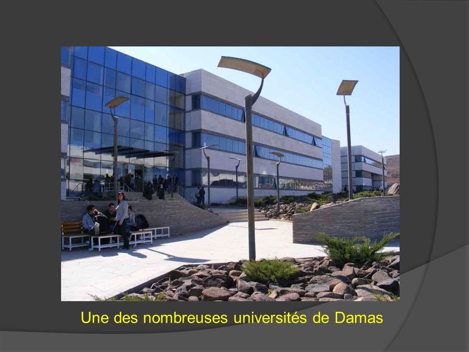 Une des nombreuses universités de Damas