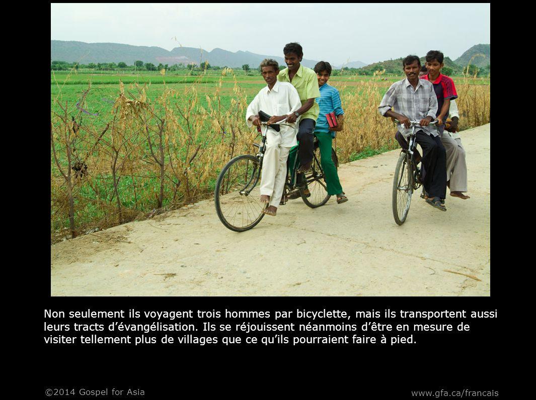 Leurs bicyclettes servent beaucoup et les soucis mécaniques représentent une perte de temps précieux consacré à effectuer des réparations.