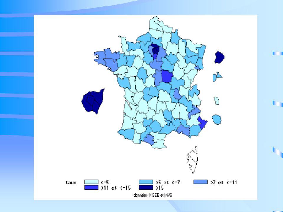 Incidence de la tuberculose chez les sujets de nationalité étrangère, déclarée par département, Ile-de-France, 2004 71,0 37,4 145,5 93,0 100,1 108.9 90,6 157,7 Taux pour 100 000 habitants