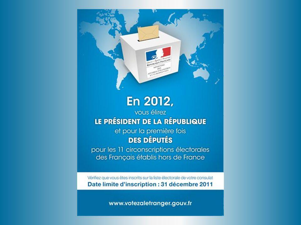 ÉLECTIONS 2012 LA PRÉSIDENTIELLE LES LÉGISLATIVES