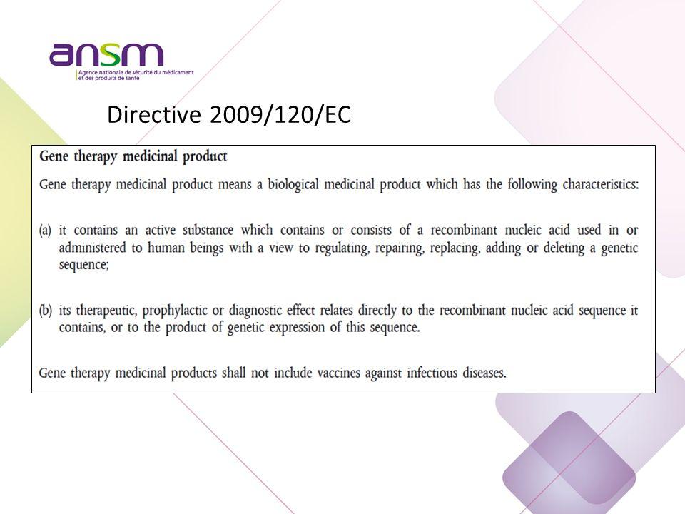 Directive 2009/120/EC