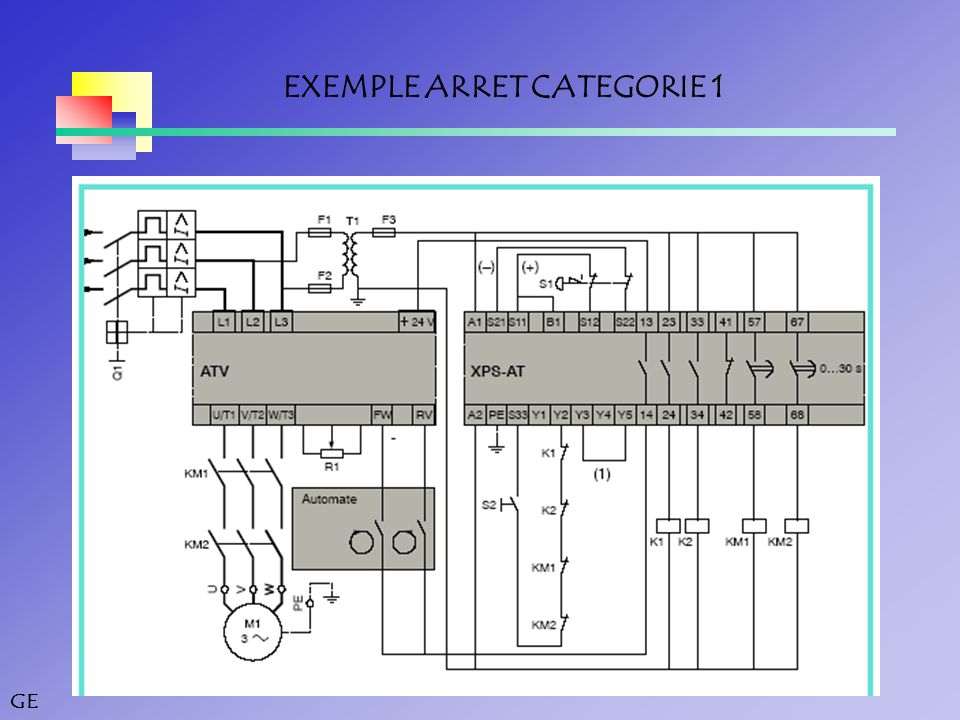 GE EXEMPLE ARRET CATEGORIE 1