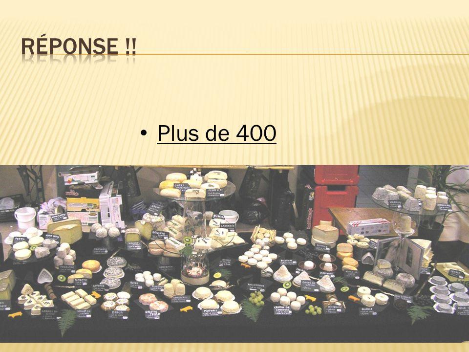 Plus de 400