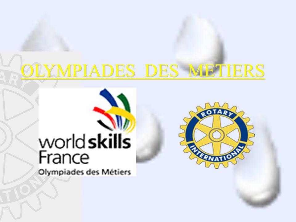 OLYMPIADES DES METIERS