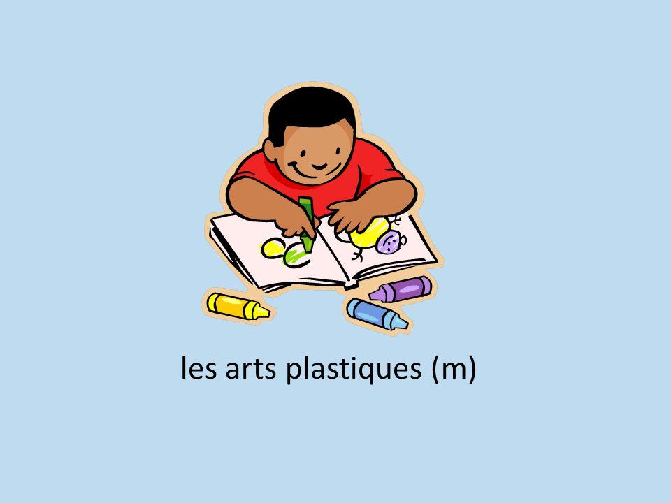 les arts plastiques (m)