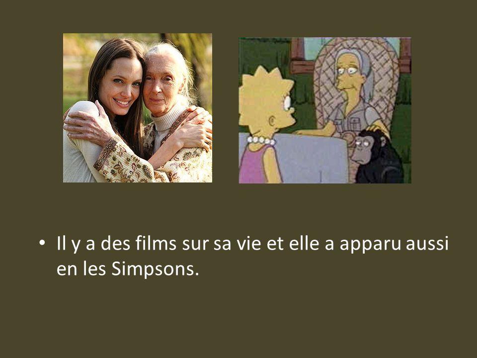 Il y a des films sur sa vie et elle a apparu aussi en les Simpsons.
