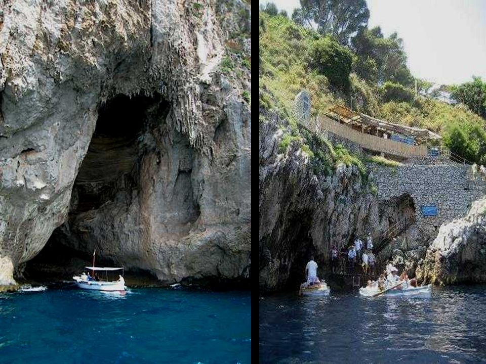 The Blue Grotto The Blue Grotto has been known and used since prehistoric times. Stone artifacts were found inside the cave and it was a favorite pool