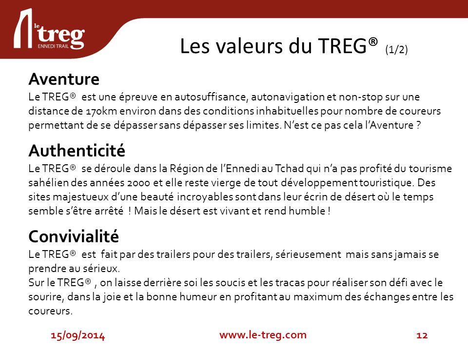 Aventure Le TREG® est une épreuve en autosuffisance, autonavigation et non-stop sur une distance de 170km environ dans des conditions inhabituelles pour nombre de coureurs permettant de se dépasser sans dépasser ses limites.