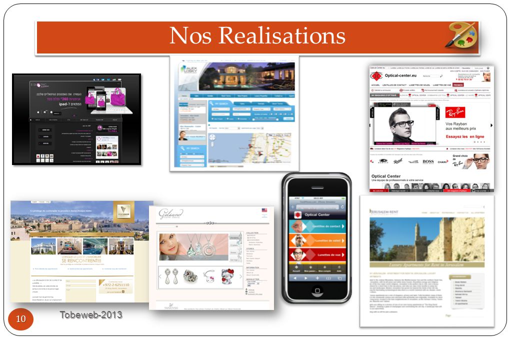 Nos Realisations Tobeweb-2013 10