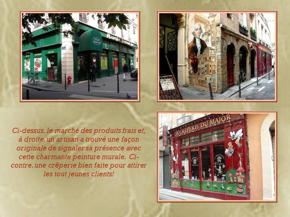 Le Café des Fédérations, authentique bouchon lyonnais, tire son nom de l'hôtel municipal Major Martin qui, en face, est le siège des amicales de la ville.