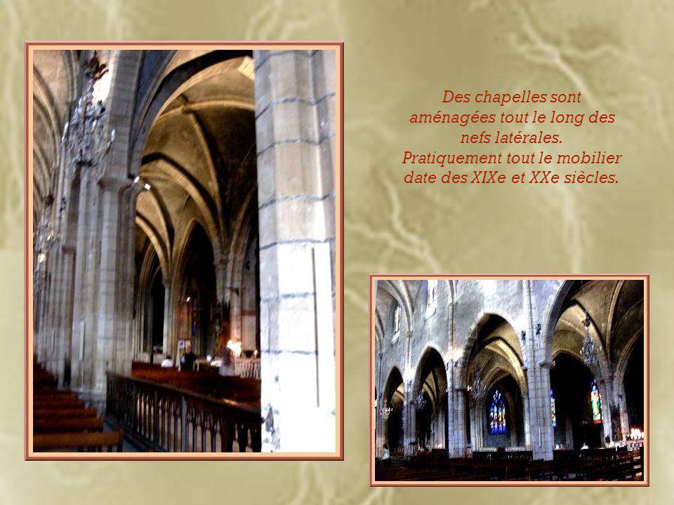 Le chœur est la partie la plus ancienne de l'église.