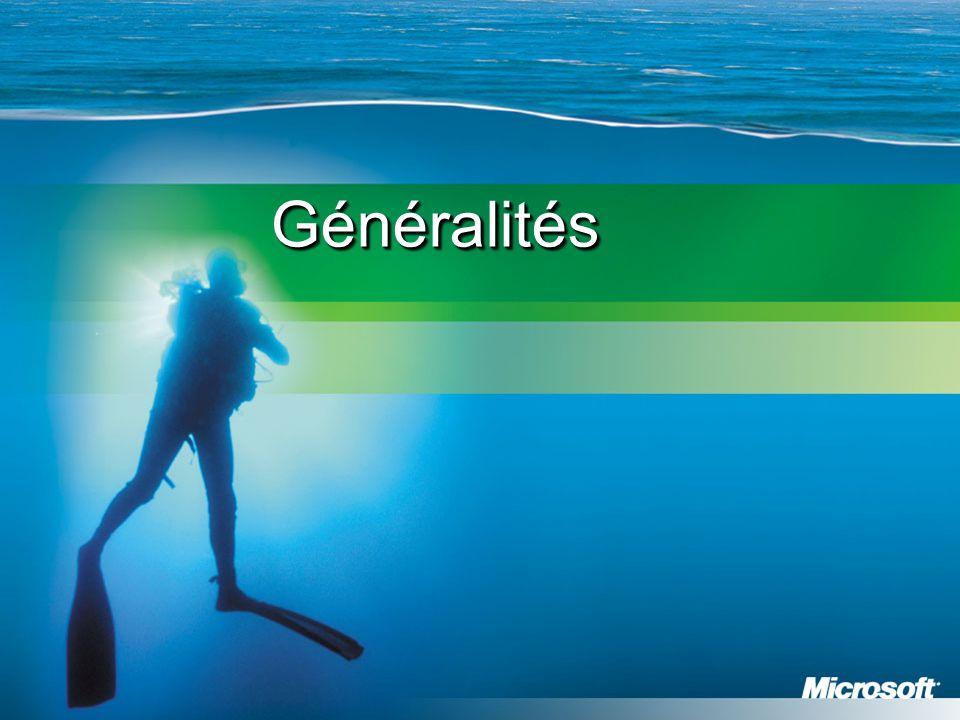 GénéralitésGénéralités