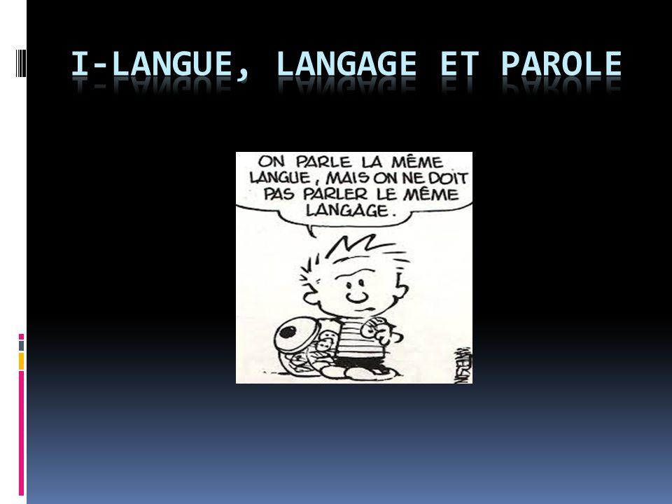 Le plan I.Définitions :  Linguistique  Linguistique des langues  Parole  Langue  Langage II.