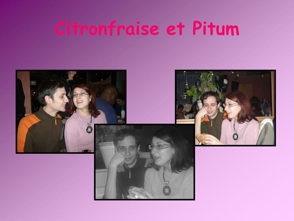 Citronfraise et Pitum