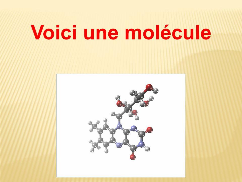 Voici une molécule