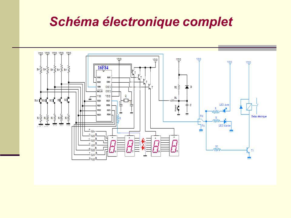 Schéma électronique complet