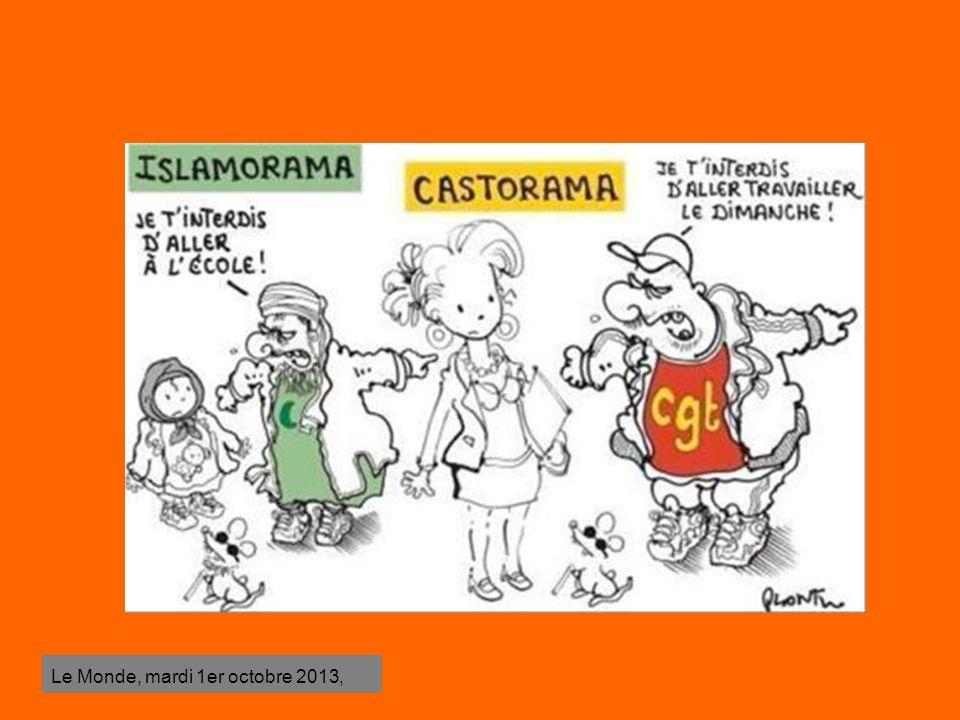 Le Monde, mardi 1er octobre 2013,