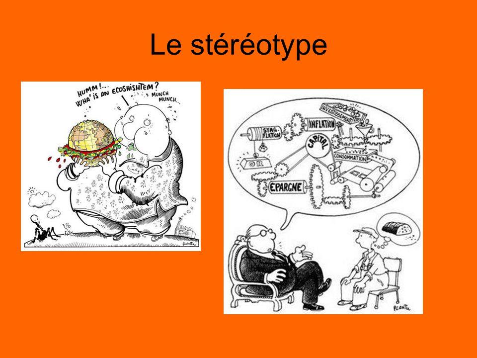 Le stéréotype