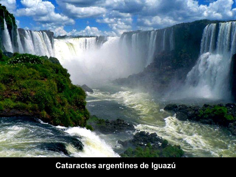 Cataractes argentines de Iguazú