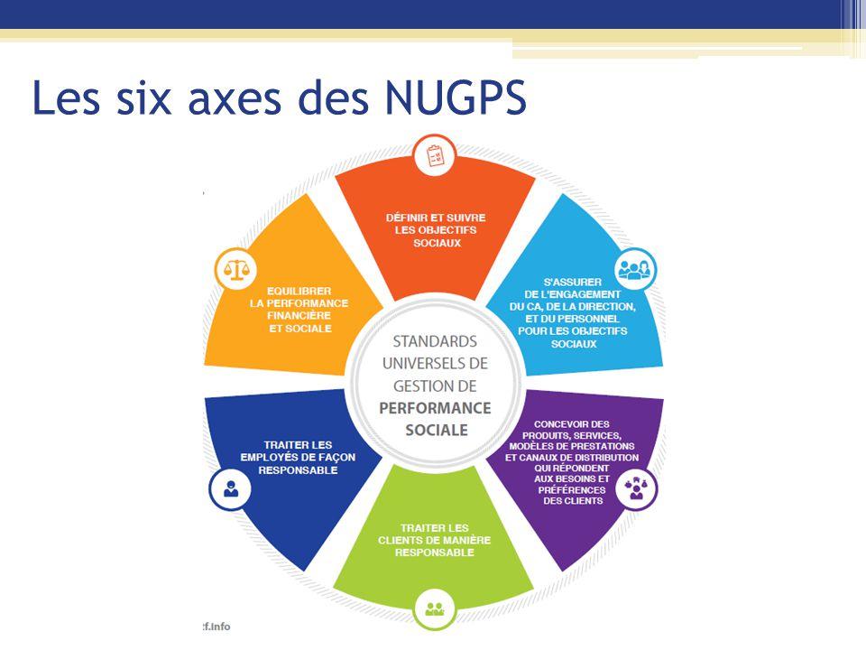 Les six axes des NUGPS