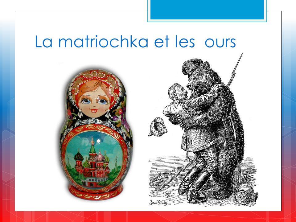 La matriochka et les ours