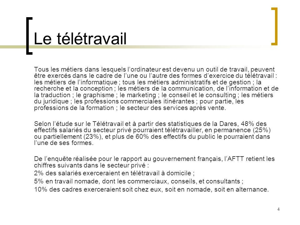 5 Régime juridique Mise en place du télétravail Soit par conclusion d'un contrat de travail Soit par modification d'un contrat de travail préexistant.