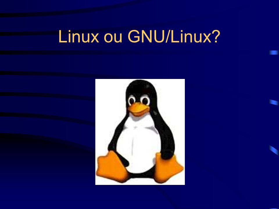 Linux ou GNU/Linux?