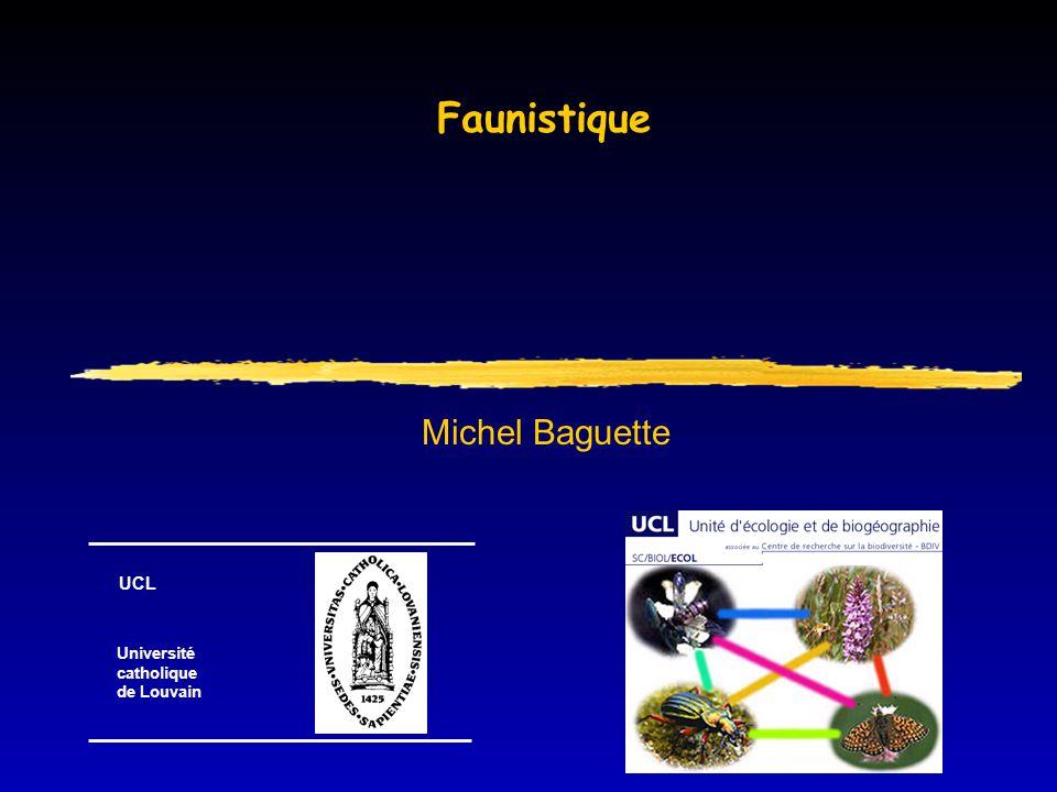 Ecologie  Etude des relations entre les organismes et leur environnement  Application: gestion soutenable des ressources  Faunistique:  gestion soutenable de la ressource faune sauvage  accent particulier sur le gibier