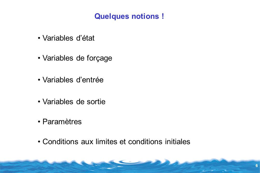 37 IDENTIFICATION DES PARAMETRES ET METHODES D'AJUSTEMENT = trouver une combinaison de valeurs des coefficients qui permette, pour chaque variable, la simulation la plus fidèle aux mesures : calage.