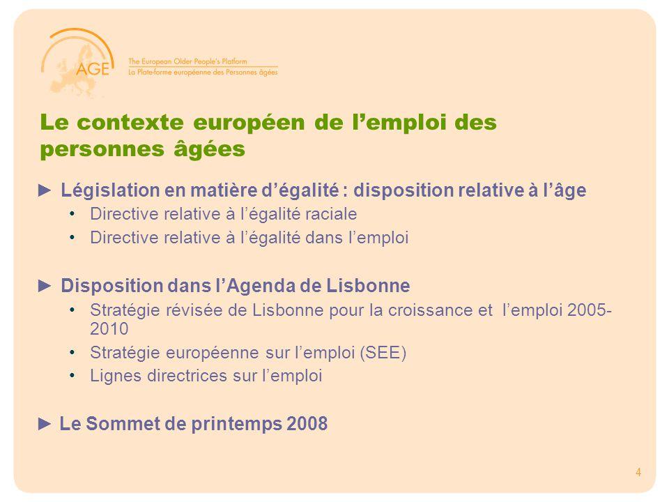 5 Les actions des Etats membres ►La Méthode ouverte de coordination La MOC fournit un cadre de coordination politique et est basée sur la fixation d'objectifs communs, d'indicateurs, de systèmes de référence, d'échanges de meilleures pratiques et de veille au niveau européen.