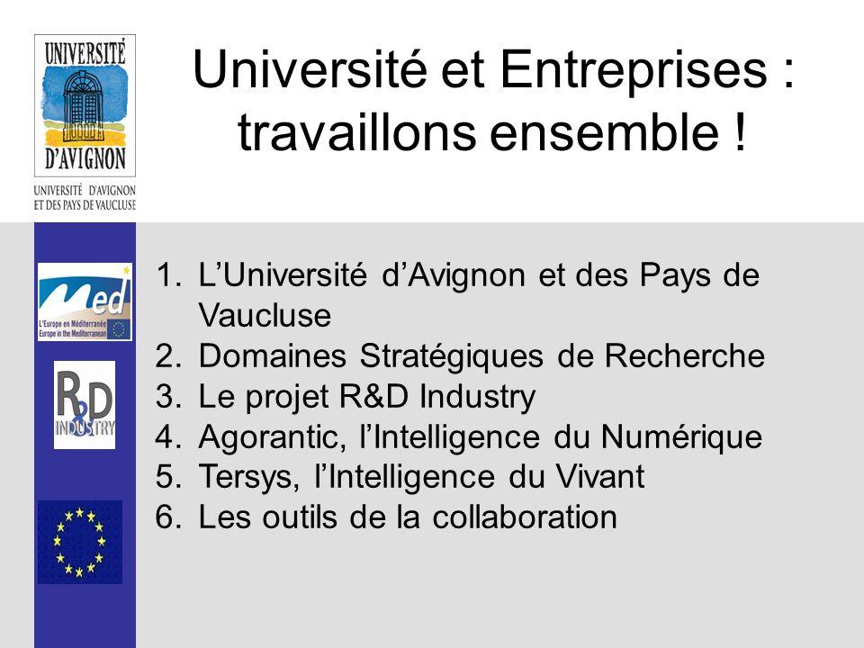 L'Université d'Avignon et des Pays de Vaucluse, c'est… …700 ans d'histoire