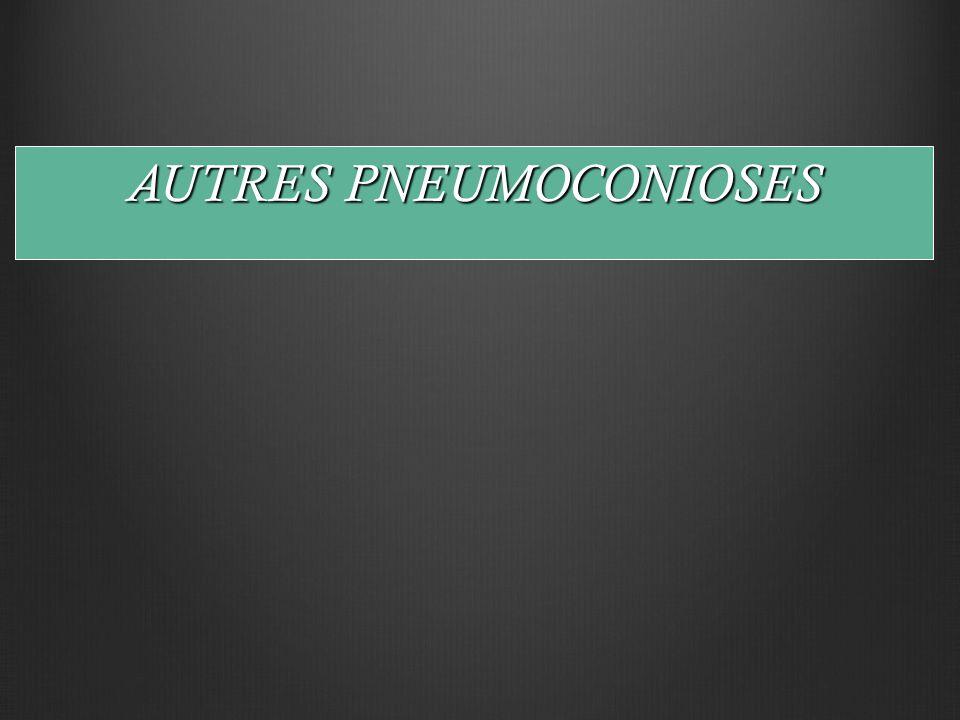 AUTRES PNEUMOCONIOSES