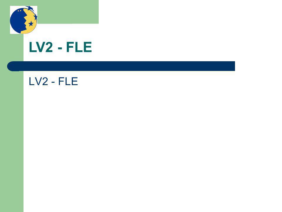 LV2 - FLE