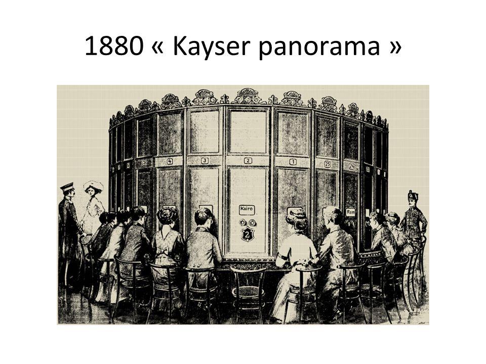 1880 « Kayser panorama »