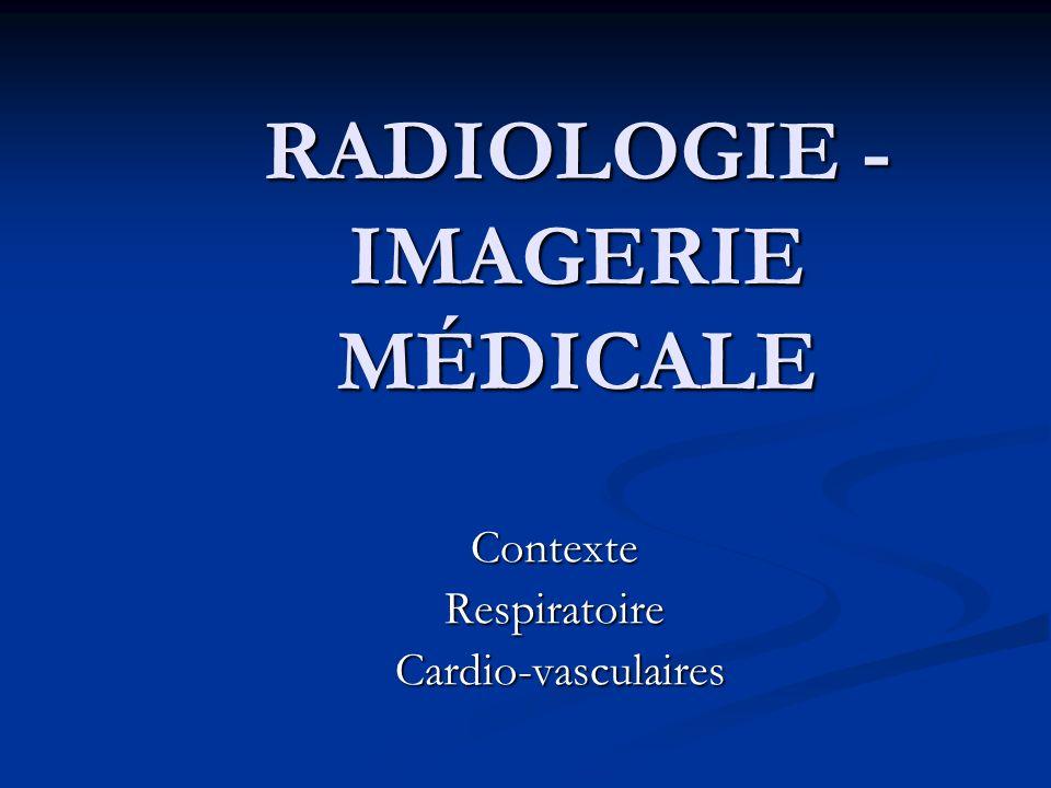 RADIOLOGIE - IMAGERIE MÉDICALE Radiologie: examen morphologique et fonctionnelle du corps humain en utilisant les rayons X Radiologie: examen morphologique et fonctionnelle du corps humain en utilisant les rayons X Imagerie médicale: Imagerie médicale: - le diagnostic par échographie (ultrasons), - le diagnostic par échographie (ultrasons), - la tomodensitométrie (TDM), - la tomodensitométrie (TDM), - imagerie par résonance magnétique (IRM).