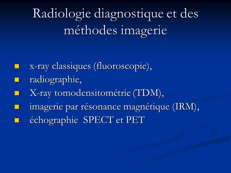 RADIOLOGIE RESPIRATOIRE - Aspects normaux - TECHNIQUES DE L'EXAMEN Radiographie pulmonaire Radiographie pulmonaire la tomographie classique la tomographie classique Bronhografia Bronhografia scintigraphie pulmonaire scintigraphie pulmonaire scanner CT scanner CT IRM IRM