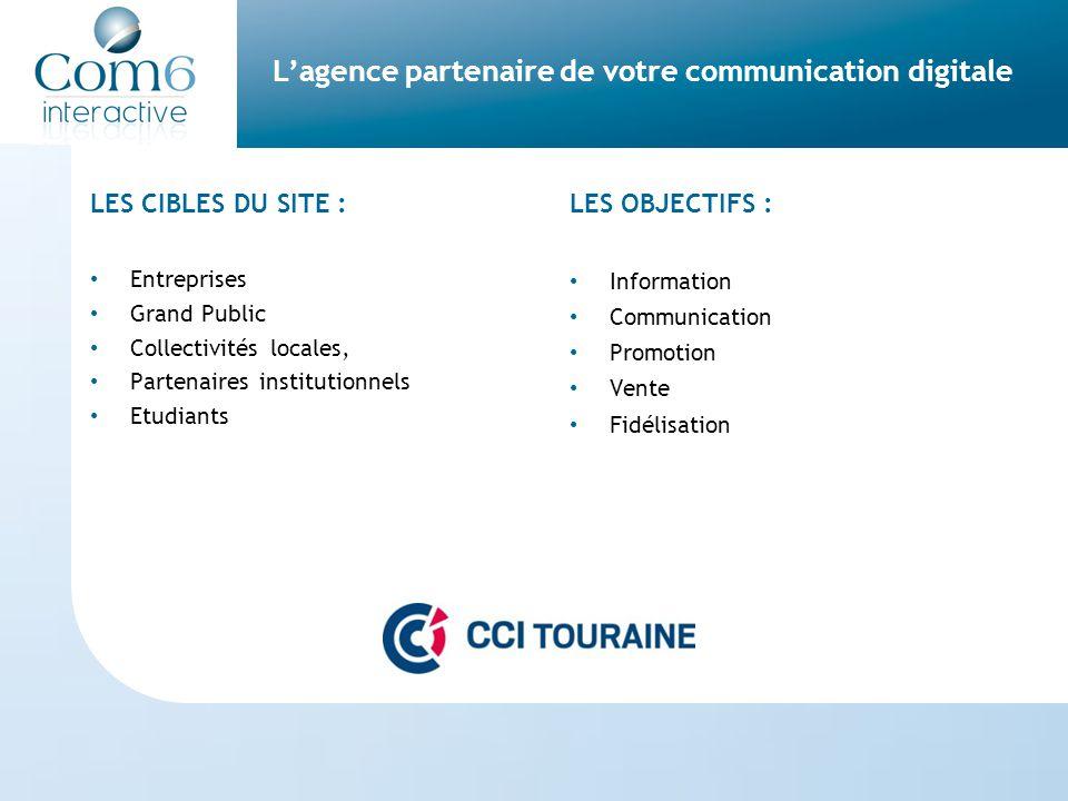 L'agence partenaire de votre communication digitale Un site internet accessible à tous