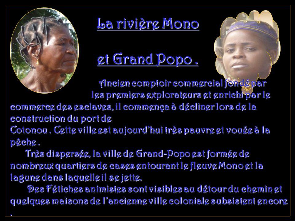 La rivière Mono et Grand Popo.