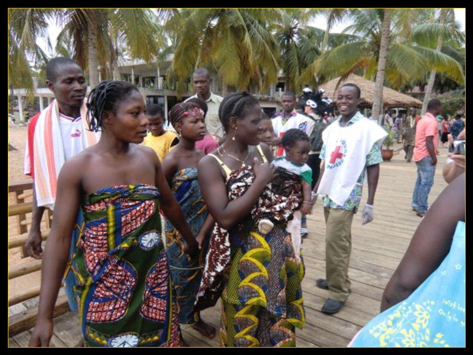 Musique et danse au ''village Ahémé'' Avec l'initiation des yovos