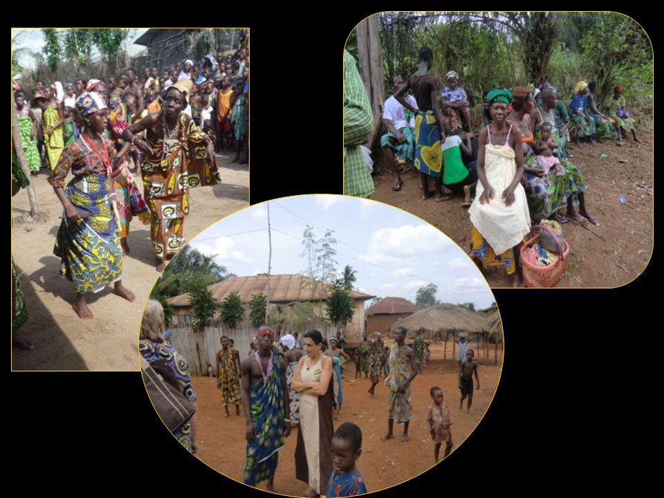 Visite dans les villages participants