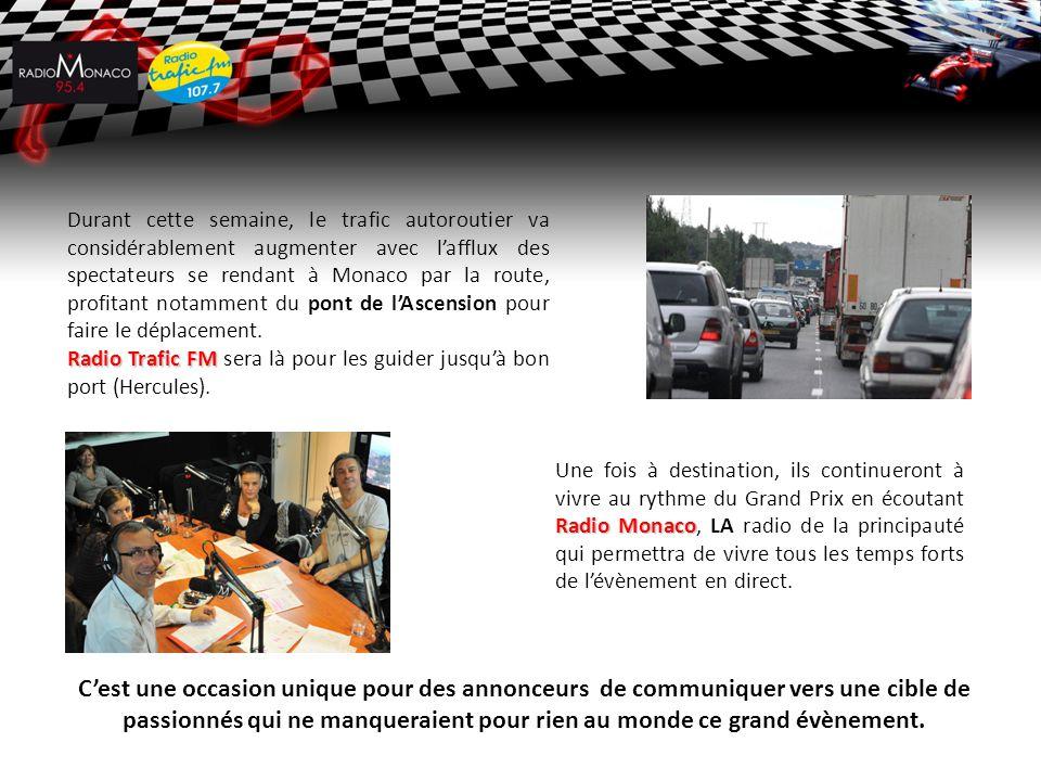 Durant cette semaine, le trafic autoroutier va considérablement augmenter avec l'afflux des spectateurs se rendant à Monaco par la route, profitant no
