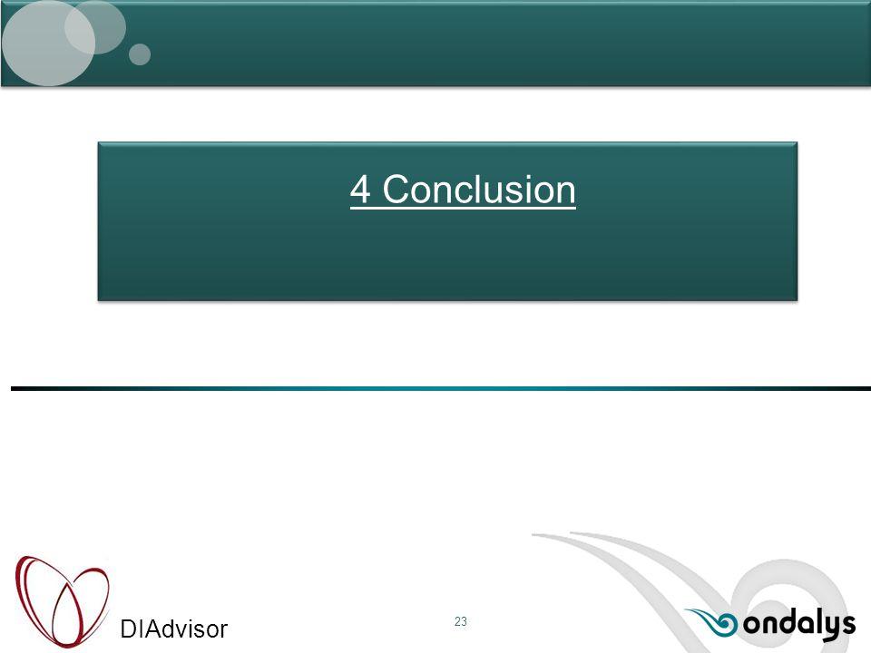 DIAdvisor 23 4 Conclusion
