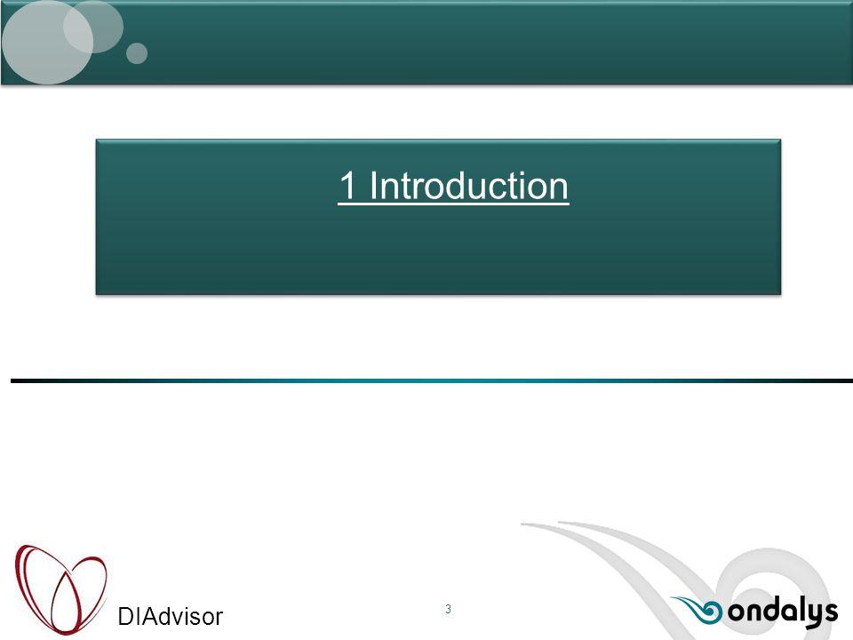 DIAdvisor 3 1 Introduction
