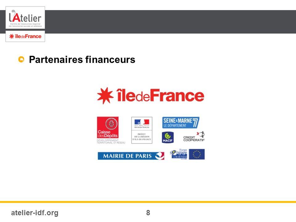 atelier-idf.org8 Partenaires financeurs