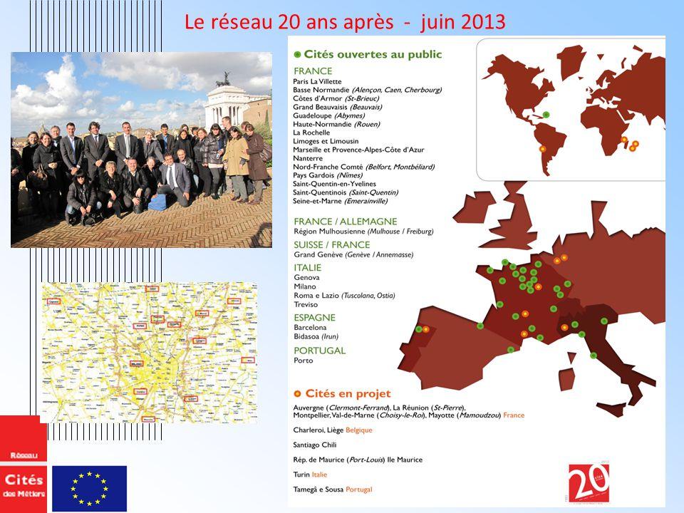 Le réseau 20 ans après - juin 2013