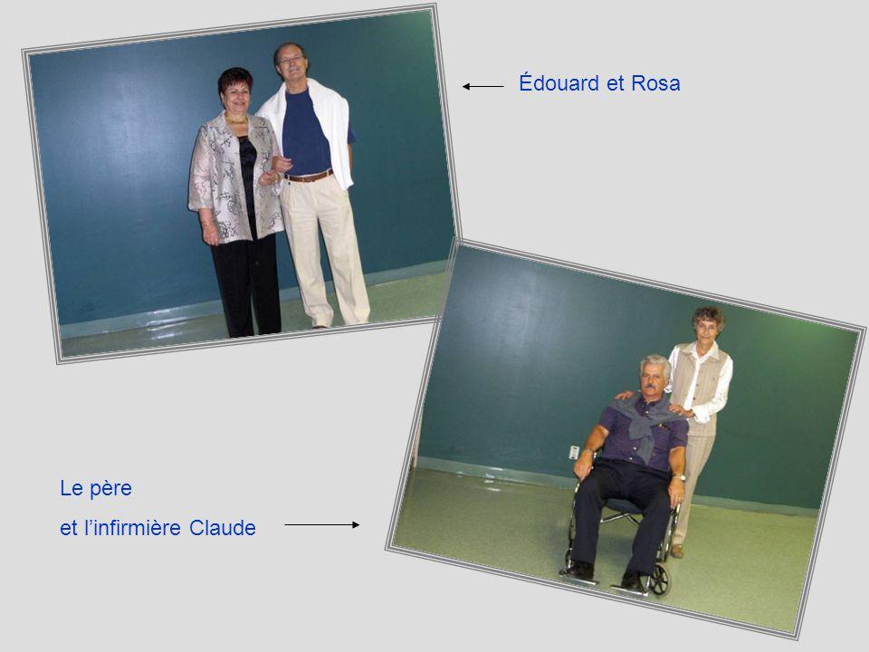Édouard et Rosa Le père et l'infirmière Claude