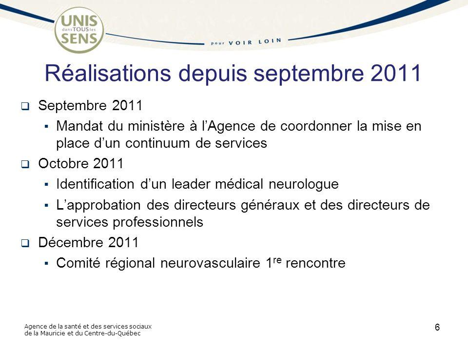 Agence de la santé et des services sociaux de la Mauricie et du Centre-du-Québec Suite...