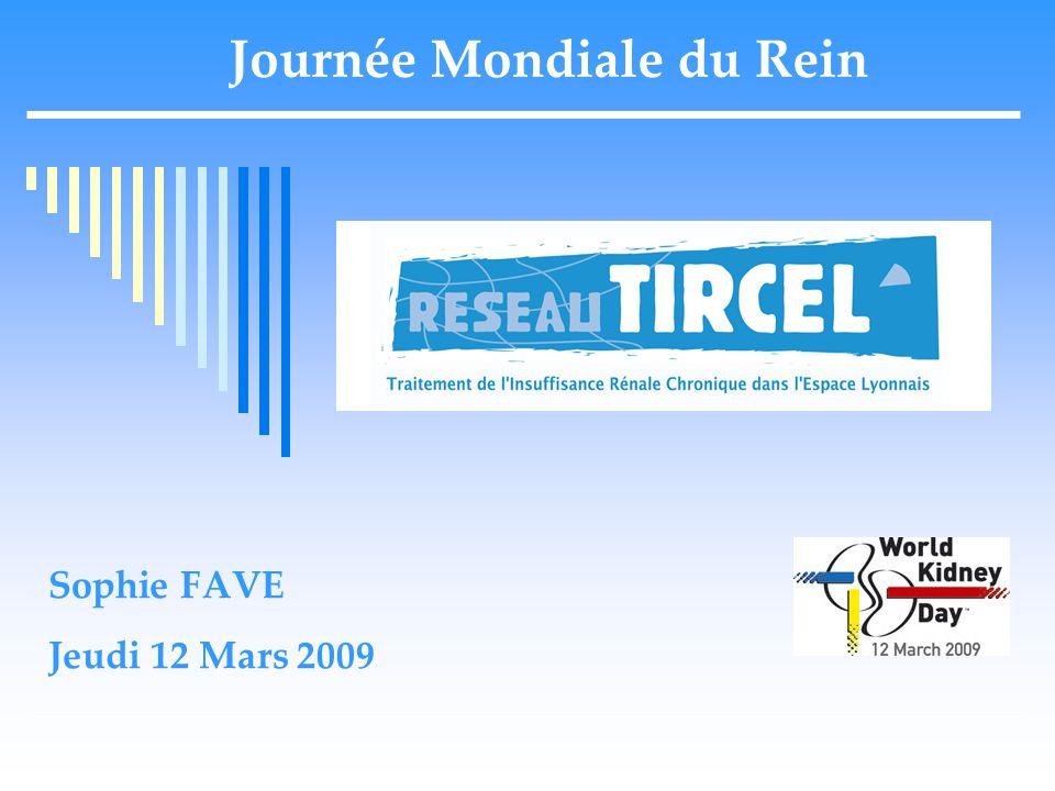 Sophie FAVE Jeudi 12 Mars 2009 Journée Mondiale du Rein