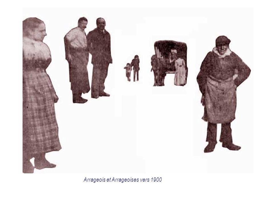 Arrageois et Arrageoises vers 1900