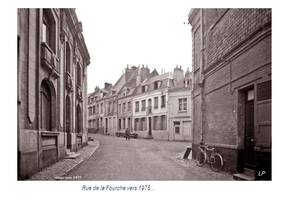 Rue de la Fourche vers 1975…